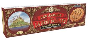 La Mère Poulard - Sablés Éclats De Chocolat - Butterkeks mit Schokoladenstückchen 125g