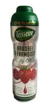 Teisseire - Le 0% Fruchtsirup Erdbeere & Himbeere 600ml