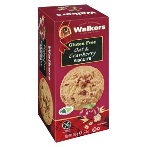 Walkers Shortbread – Oat & Cranberry Biscuits 150g Glutenfrei