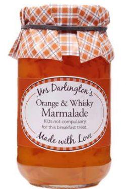 Mrs Darlingtons - Orangen Marmalade mit Scotch Whisky 340g